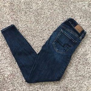 American Eagle Super Super Stretch Darkwash Jeans